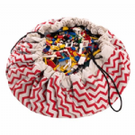 Zigzag Red - Play & Go, Toy Storage Bag